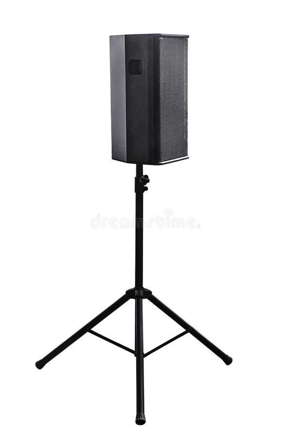 音频接近的设备音乐报告人 免版税库存照片