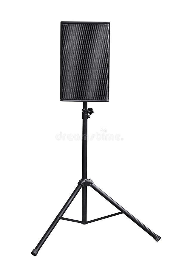 音频接近的设备音乐报告人 库存照片