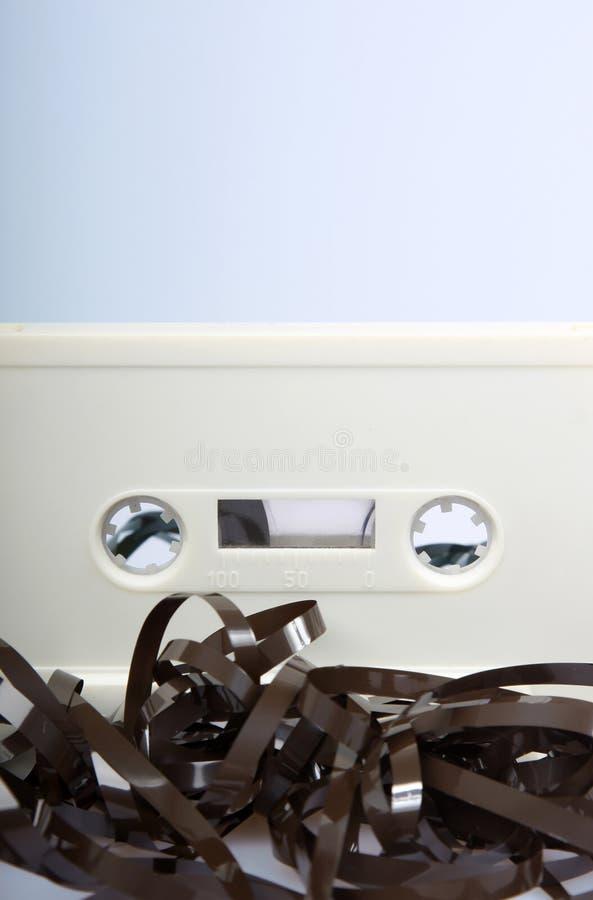 音频混淆的磁带  库存照片