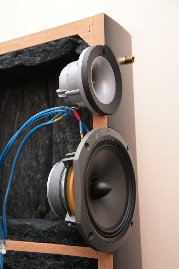 音频里面系统 库存图片