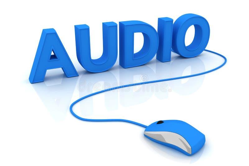 音频 向量例证