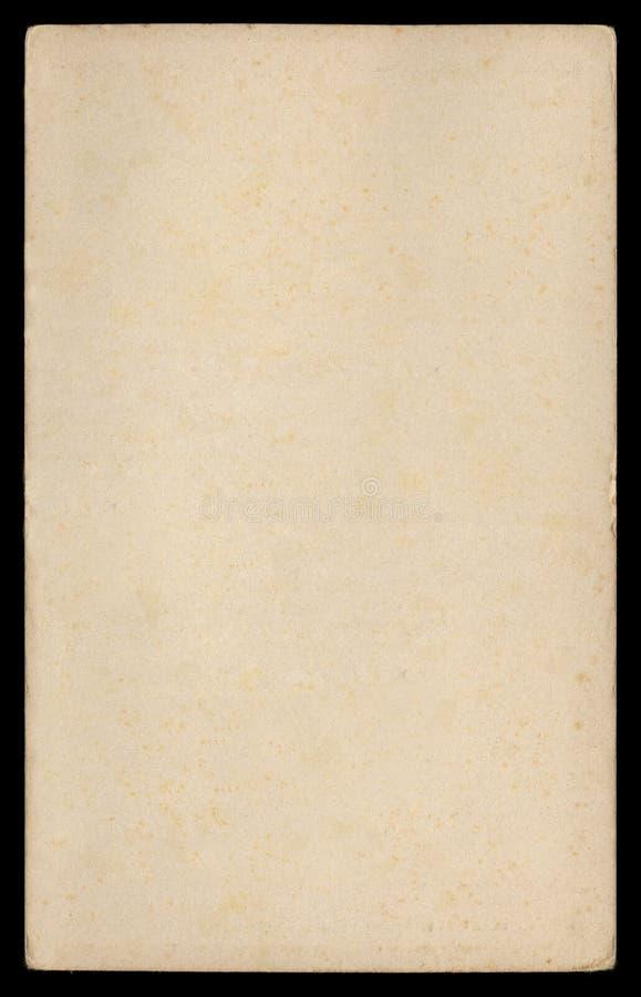 页纸葡萄酒 免版税库存图片