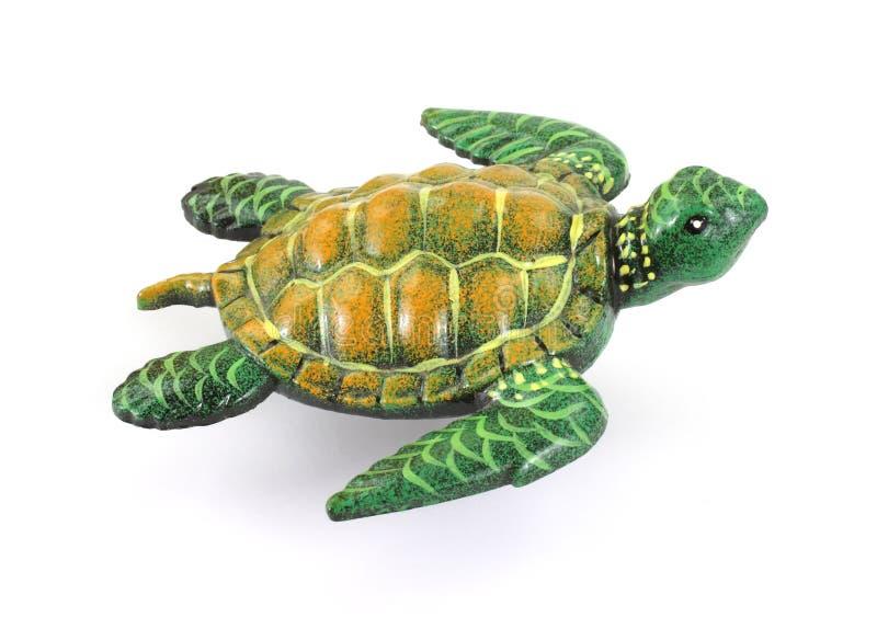 顶上的海龟查阅 免版税库存照片