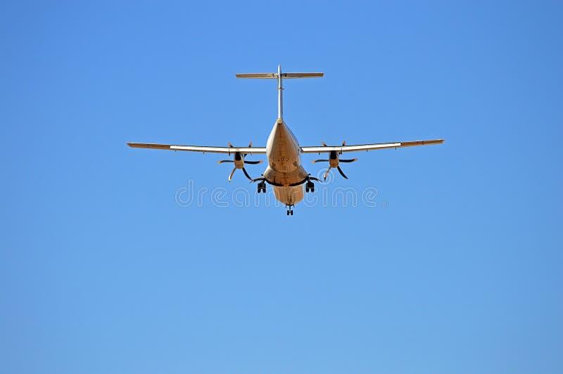 顶上的航空器 库存照片