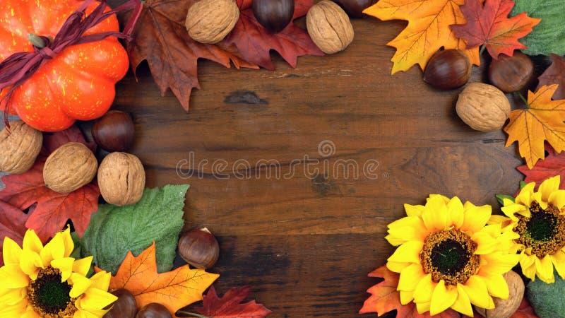 顶上秋天的秋天 免版税图库摄影