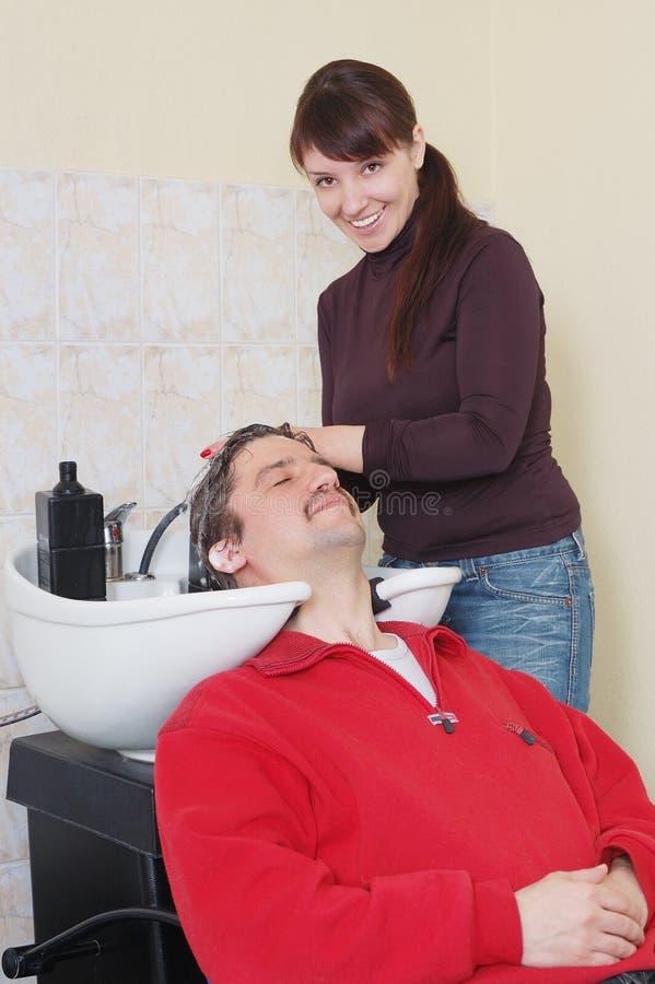 顶头洗涤物 免版税图库摄影