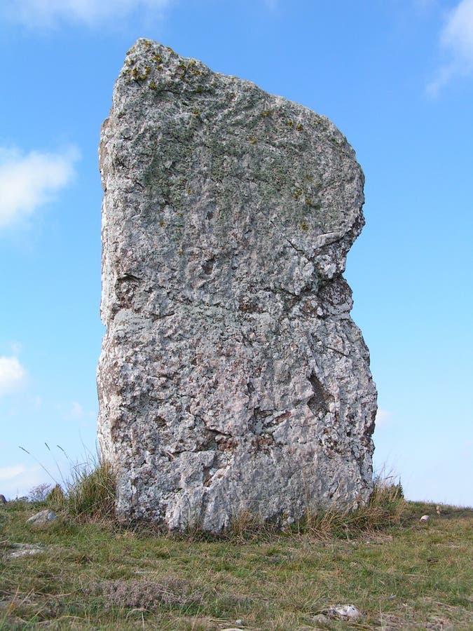 顶头石头 免版税图库摄影
