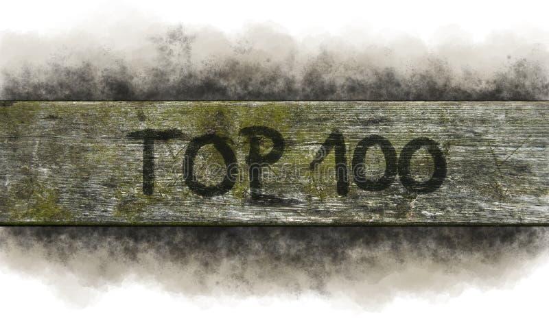100顶层 图库摄影
