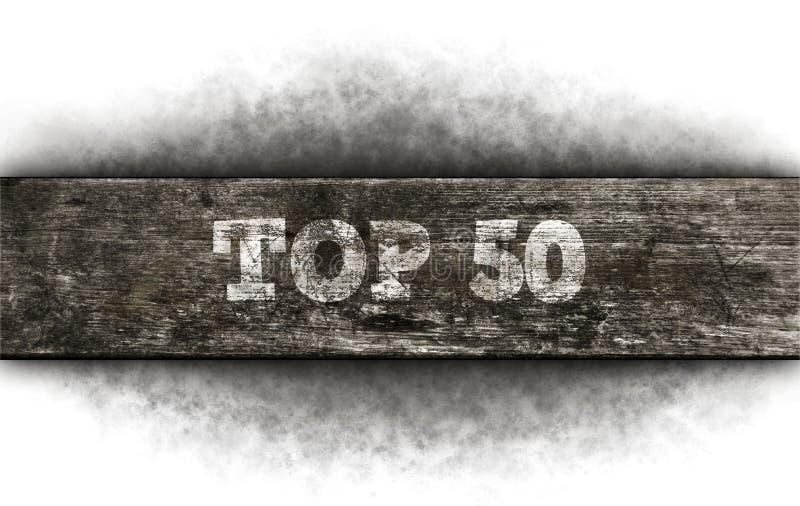 50顶层 免版税图库摄影
