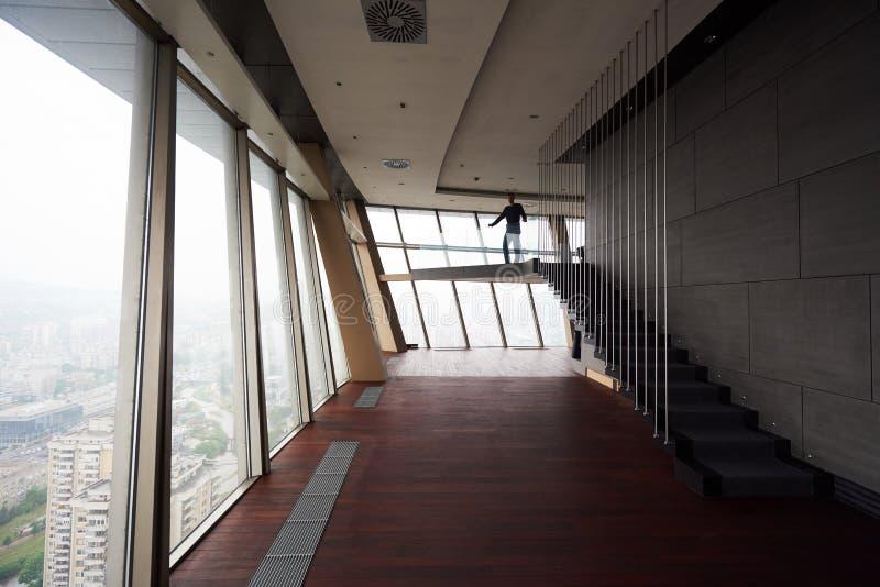 顶楼房屋公寓 免版税图库摄影