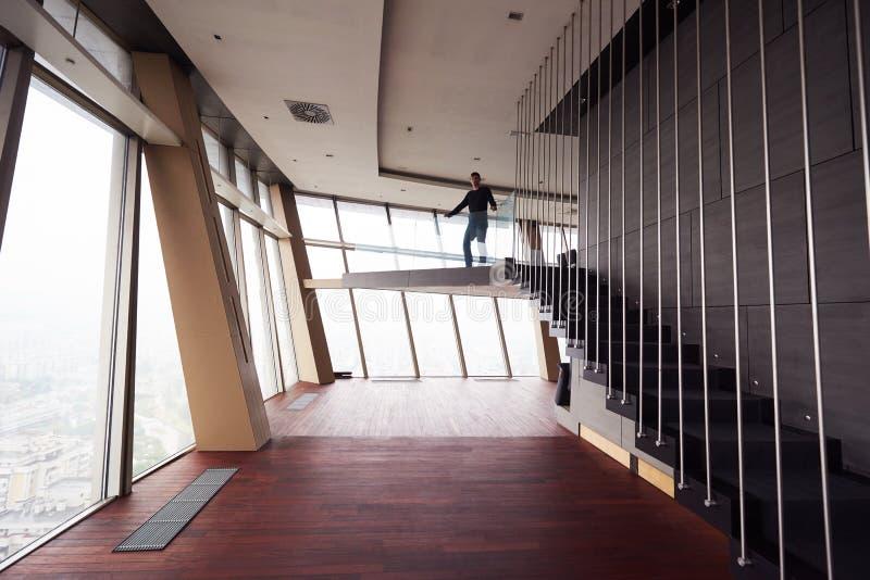 顶楼房屋公寓 库存图片