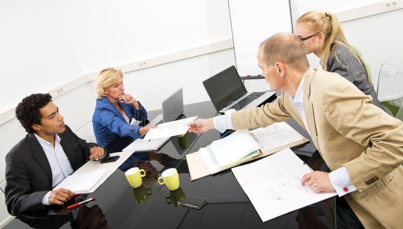 项目小组会议 库存照片