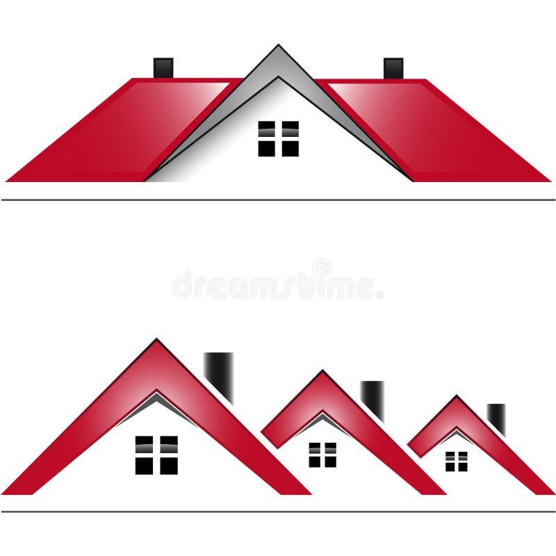 项目房子号码一 库存例证