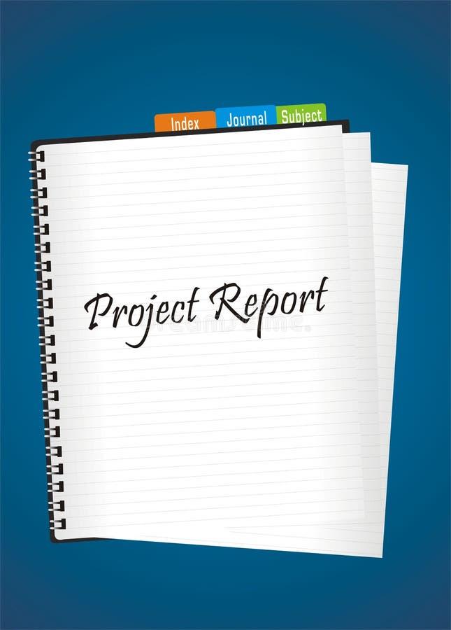 项目报表 皇族释放例证
