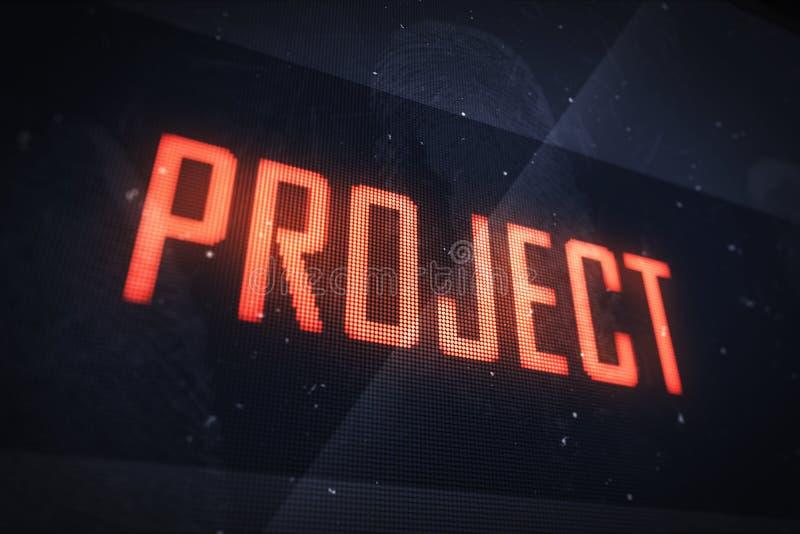 项目概念 向量例证