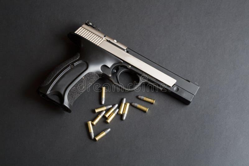 项目符号手枪 免版税图库摄影