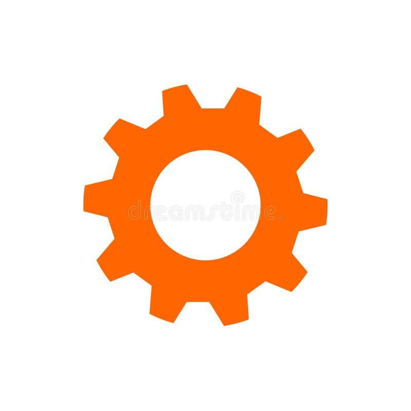 项目管理传染媒介象 星型网和齿轮坚实象 网络设计和流动应用程序的传染媒介例证 库存例证
