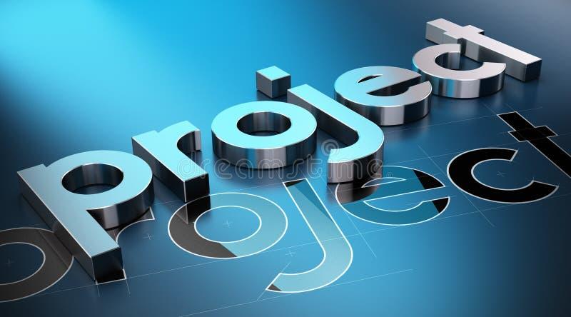 项目管理概念 向量例证