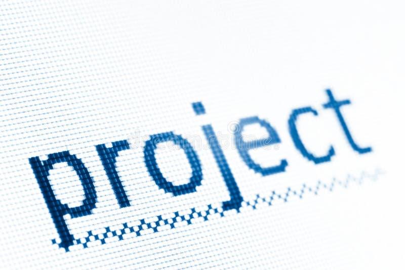 项目 免版税图库摄影