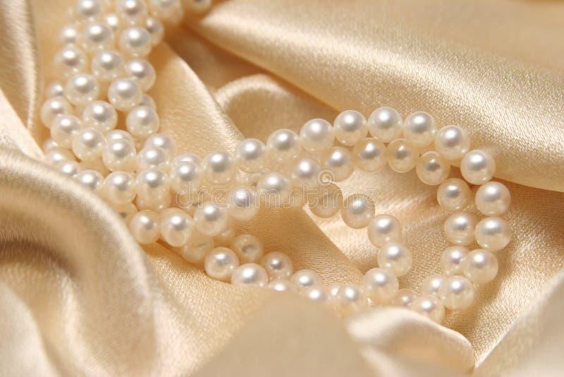 项链珍珠 库存图片