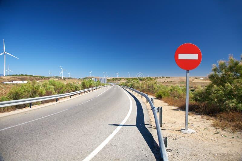 项高速公路没有方式 库存照片
