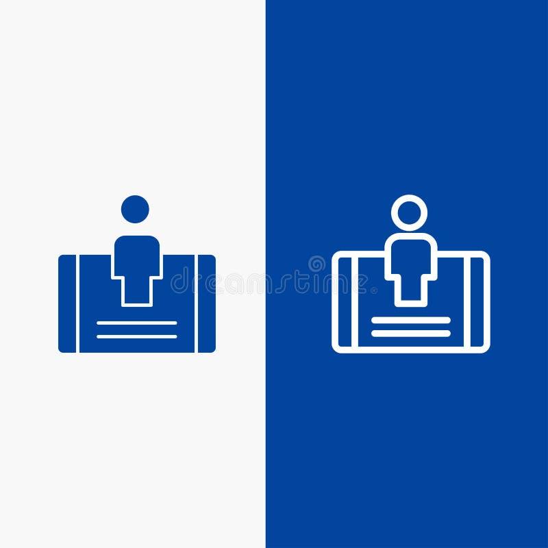 顾客、订婚、机动性,社会线和纵的沟纹坚实象蓝色旗和纵的沟纹坚实象蓝色横幅 皇族释放例证