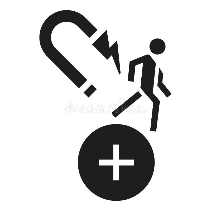 顾客保留象,简单的样式 库存例证