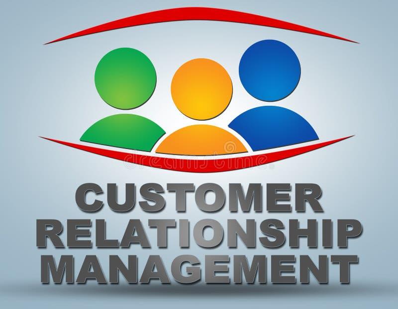顾客关系管理 库存例证