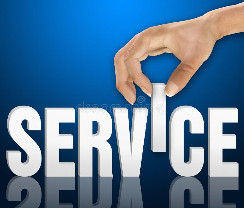 顾客服务概念 免版税库存照片