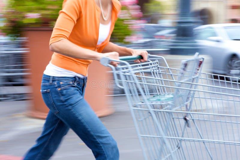 顾客超级市场 库存照片