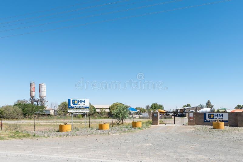 预拌混凝土供应商在Kwaggafontein在布隆方丹 库存照片