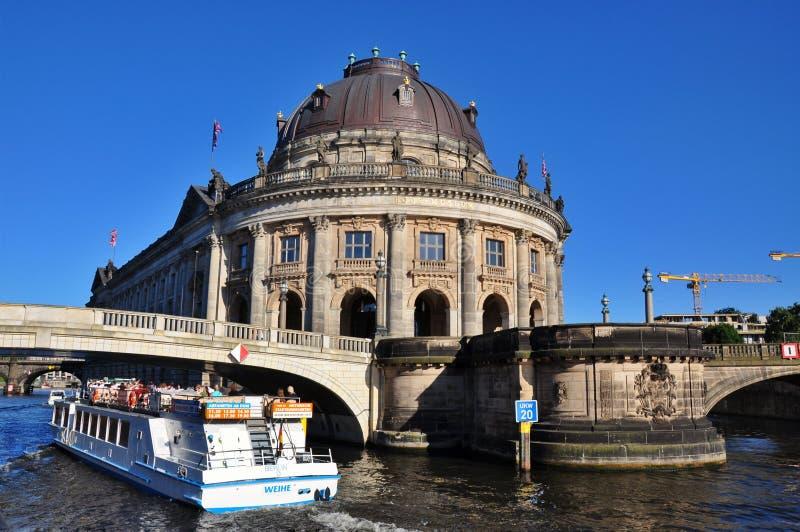预示的博物馆在柏林,德国 免版税库存图片