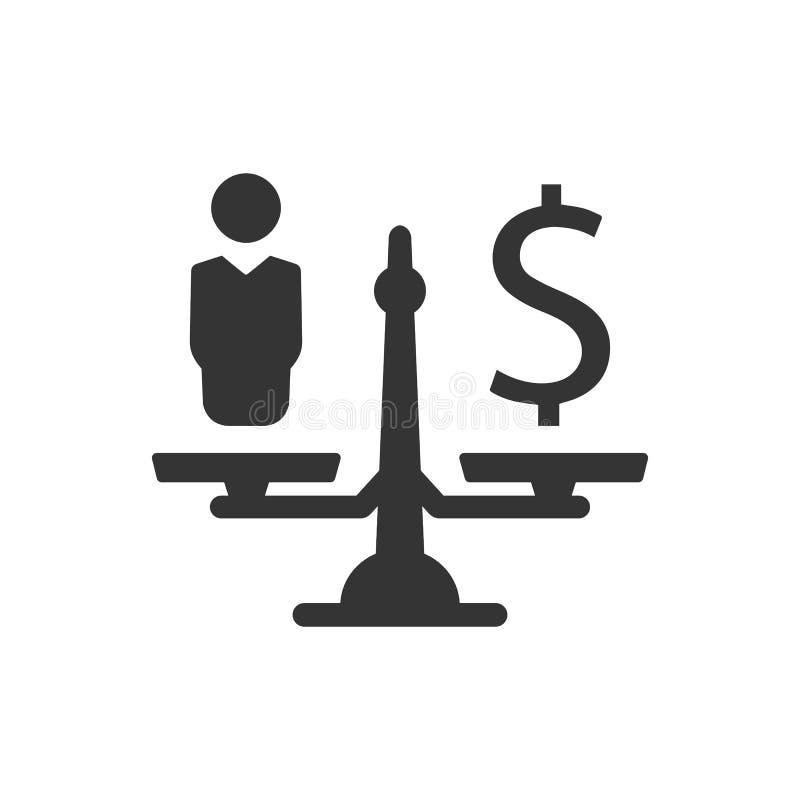 预算估计象 库存例证