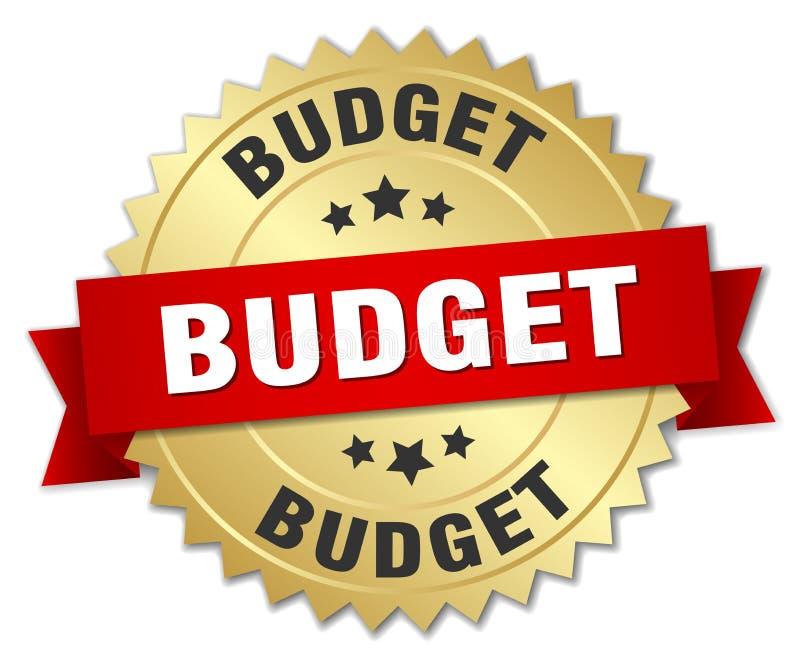 预算值 皇族释放例证