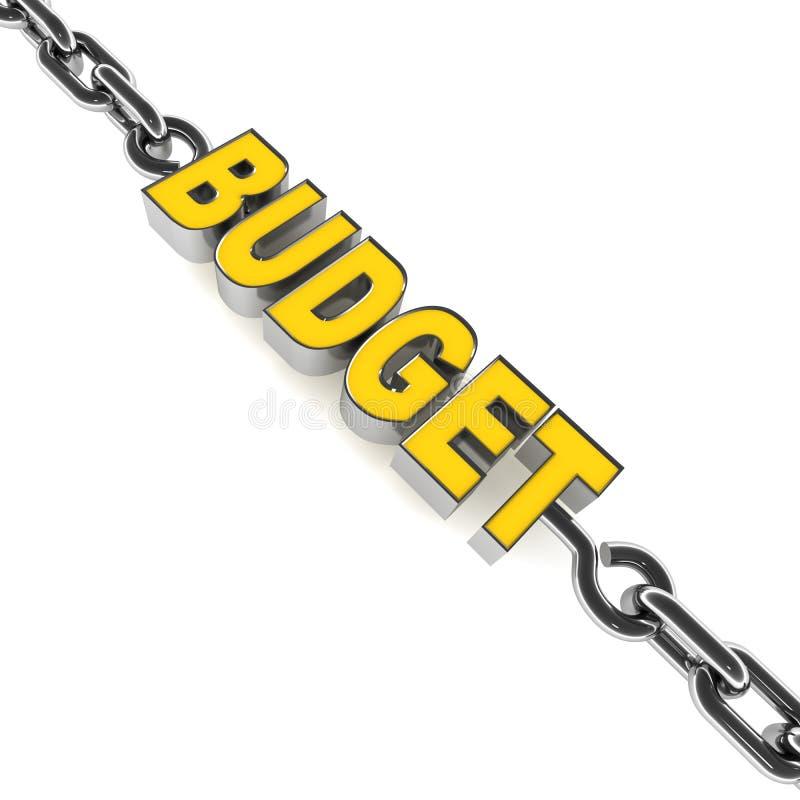 预算舒展 向量例证