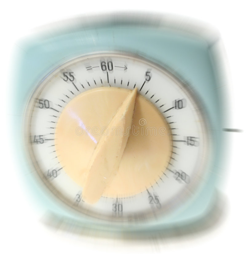 预警重点时间 免版税库存图片