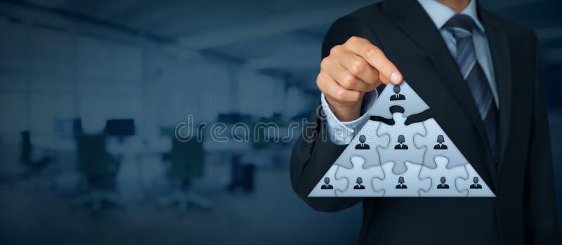 领导和CEO 免版税库存图片