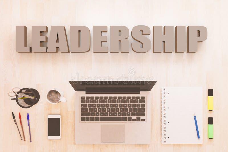 领导文本概念 向量例证