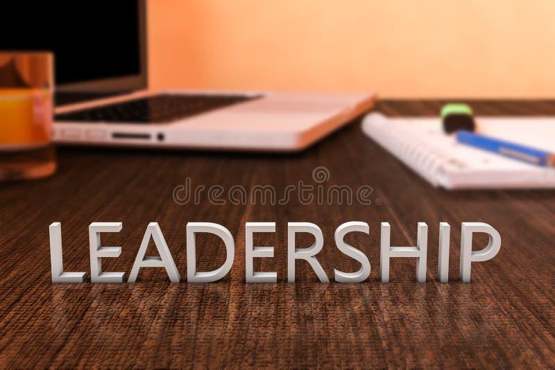 领导 库存例证