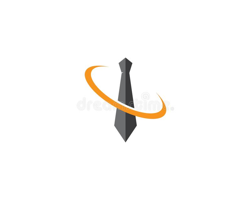 领带商标模板 皇族释放例证