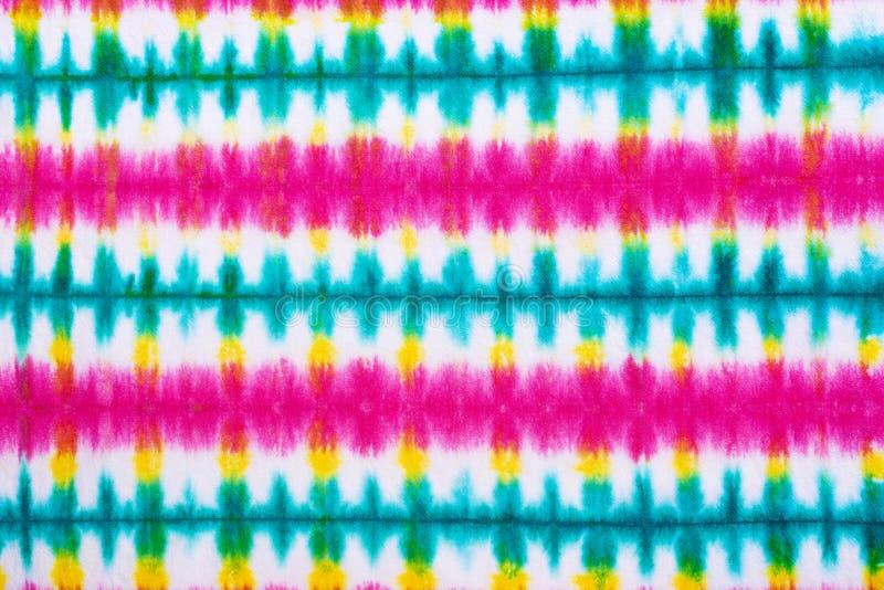 领带染料样式摘要背景 免版税库存照片
