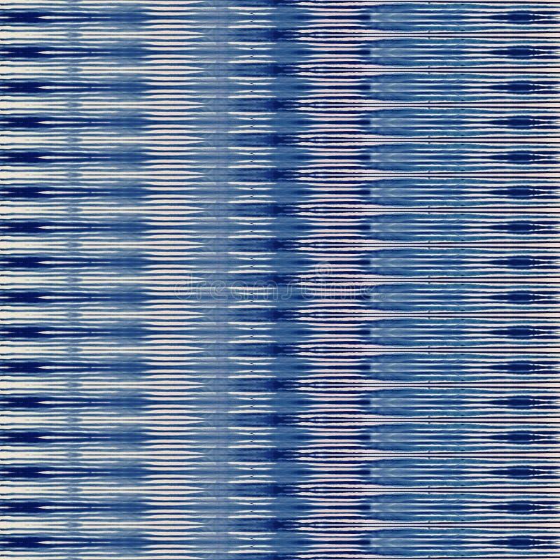 领带染料蜡染布纹理重复现代样式 向量例证