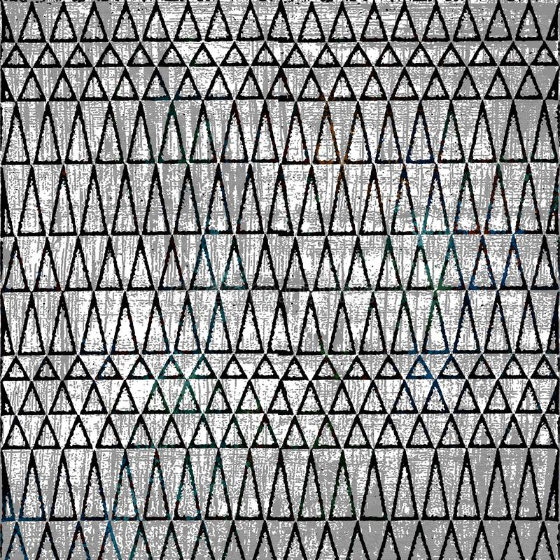 领带染料蜡染布纹理重复现代样式 库存例证