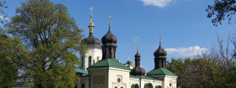 领港教会在基辅 图库摄影