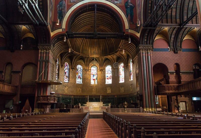 领港教会,波士顿 库存图片