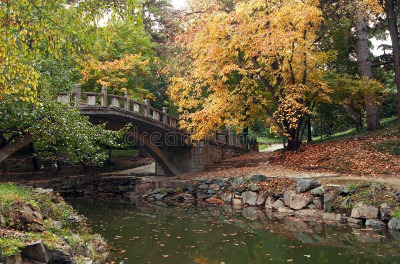 颐和园的秋天 免版税图库摄影