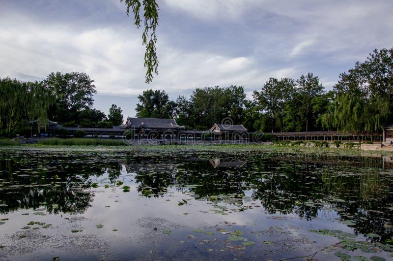 颐和园,北京 免版税库存照片