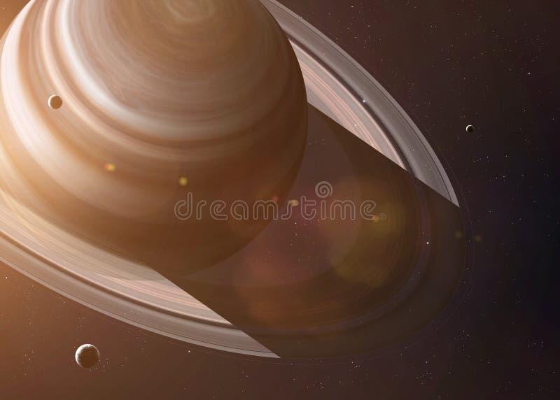 题字由最隐秘的行星启发了  库存图片