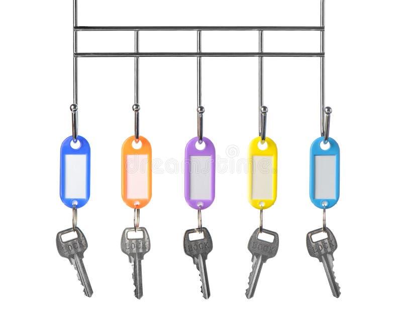 颜色关键字小装饰品 免版税库存照片