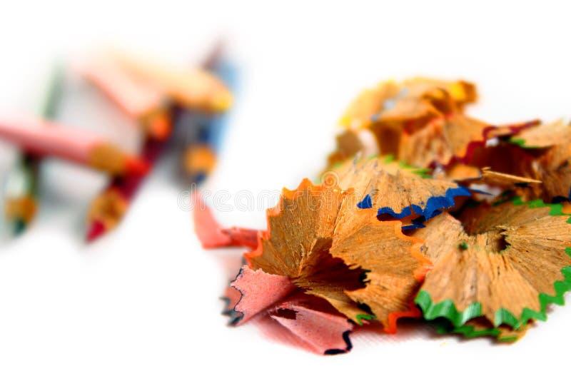 颜色刮 免版税库存照片